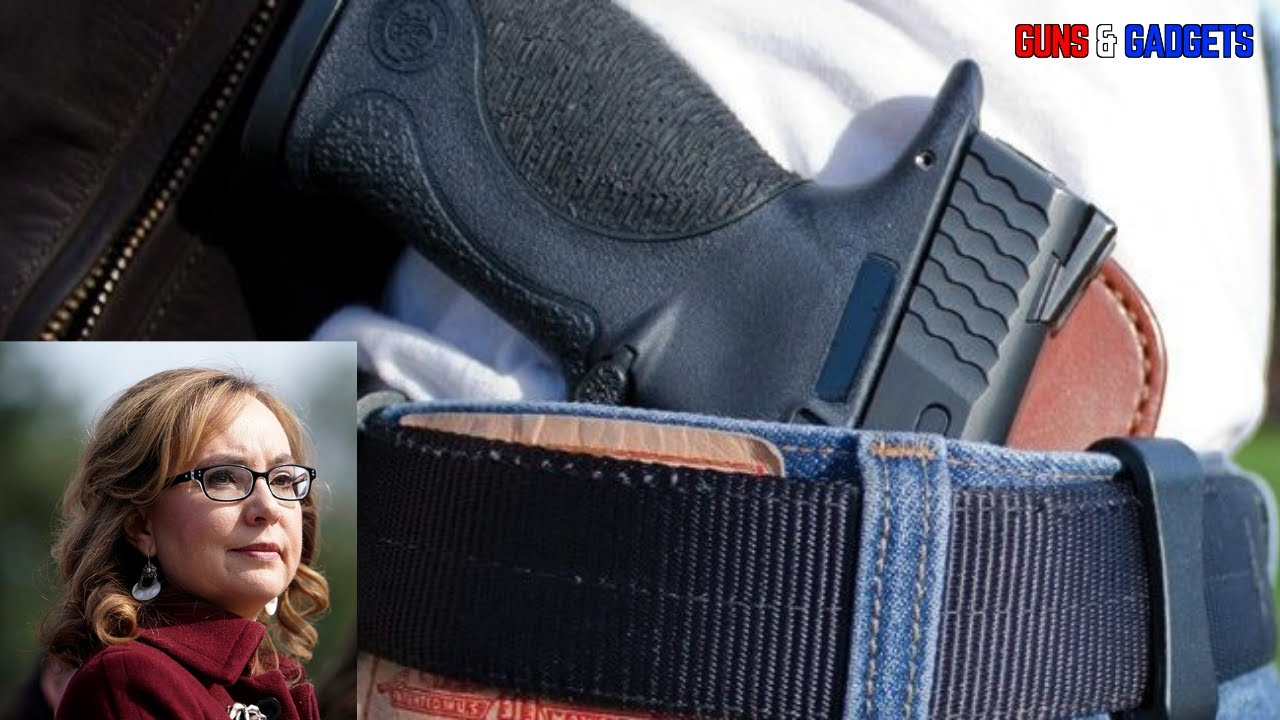 Gabby Giffords Pushes Congress For MORE Gun Control
