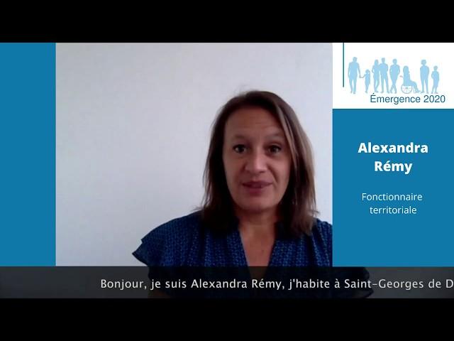 Elections municipales Saint-Georges de Didonne 2020 – Alexandra RÉMY – Réalisation Emergence 2020.