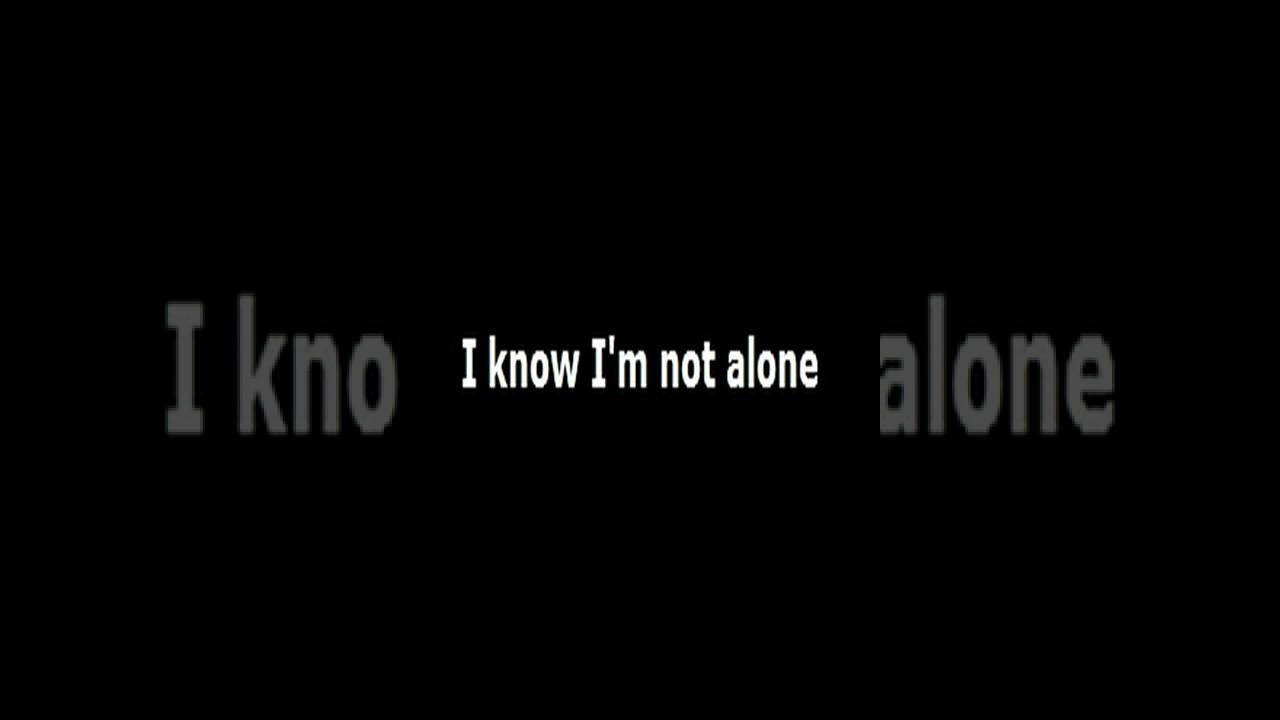 alan walker alone lyrics