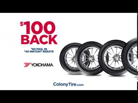 Colony Tire October 2015 Tire Yokohama