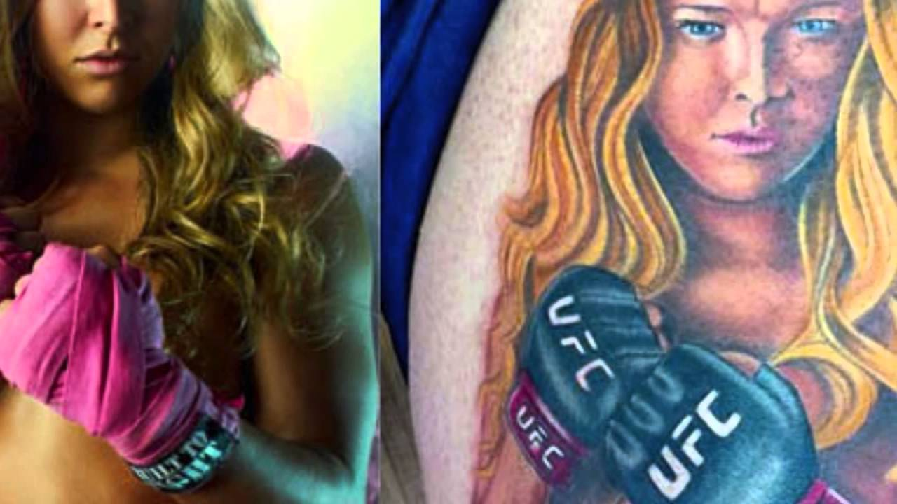 Ronda Rousey Tattoo: Ronda Rousey's 'Body Issue' Picture Fan Tattoo