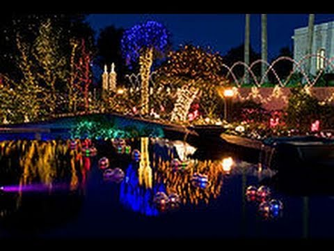 Christmas Lights At Mormon Temple Mesa Az Youtube