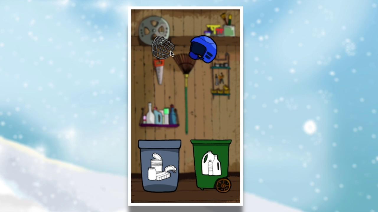 Rolig, pedagogiskt spel för barn - Pi och Powerbollarna 2 Vinterracet