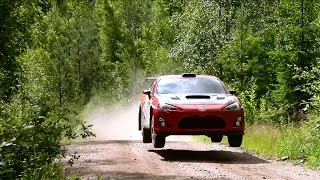 TOMMI MÄKINEN - Toyota GT86 4x4 - Rally Finland Test