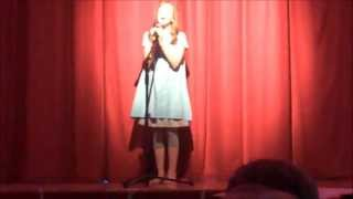 Tomorrow from the musical Annie sung by Hannah at the Stars and Stripes Show July 2013