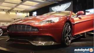 2014 Aston Martin Vanquish Sports Car Video @ 2012 LA Auto Show