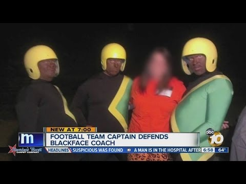 Players defend local coaches who dressed in blackface for Halloween