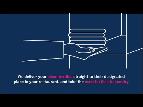This is how our restaurant textile service works