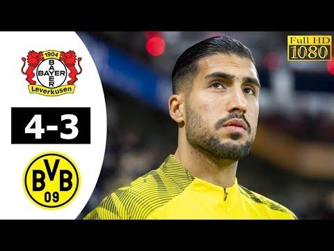 Bayer Leverkusen vs Dortmund 4-3