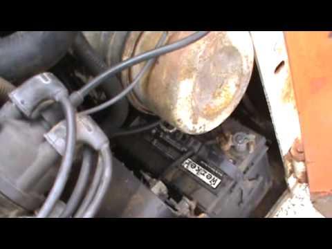 1986 bobcat 642b skid steer for parts mitsubishi 4g32 for. Black Bedroom Furniture Sets. Home Design Ideas