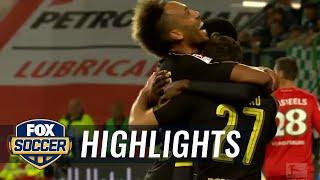 Vfl Wolfsburg Vs. Borussia Dortmund | 2016-17 Bundesliga Highlights