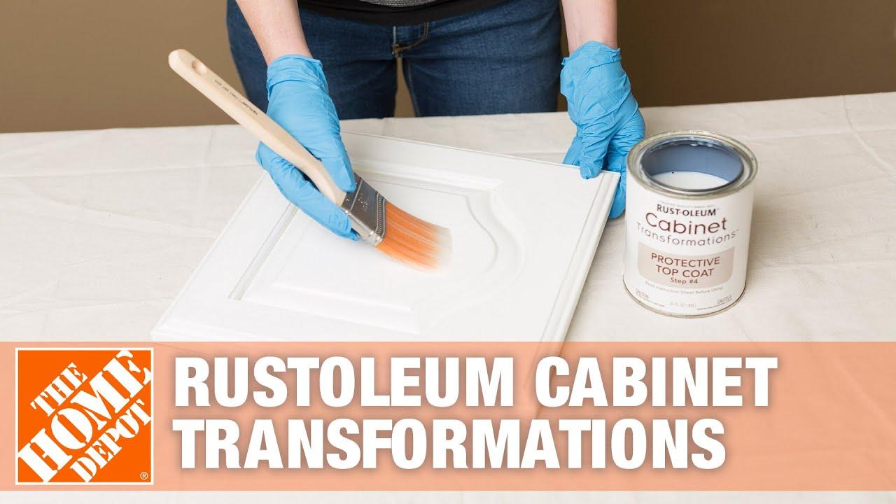 Rust Oleum Cabinet Transformation Rustoleum Cabinet Transformations Youtube