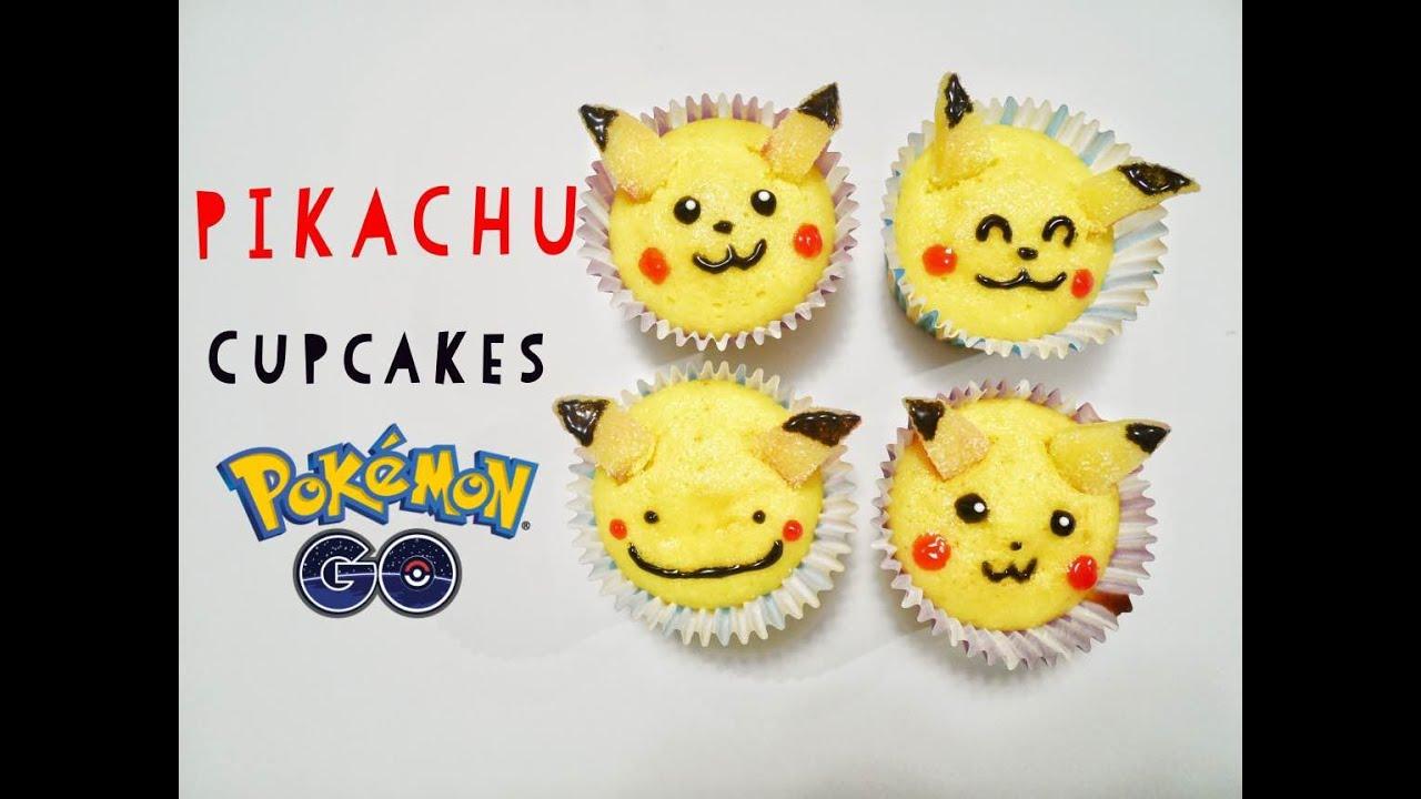 Pokemon Go Pikachu Cupcakes Easy Tutorial For Cute Cake