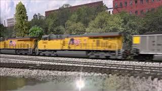 Running Trains, Trains & More Trains Unit Train ~500 Car Mania!