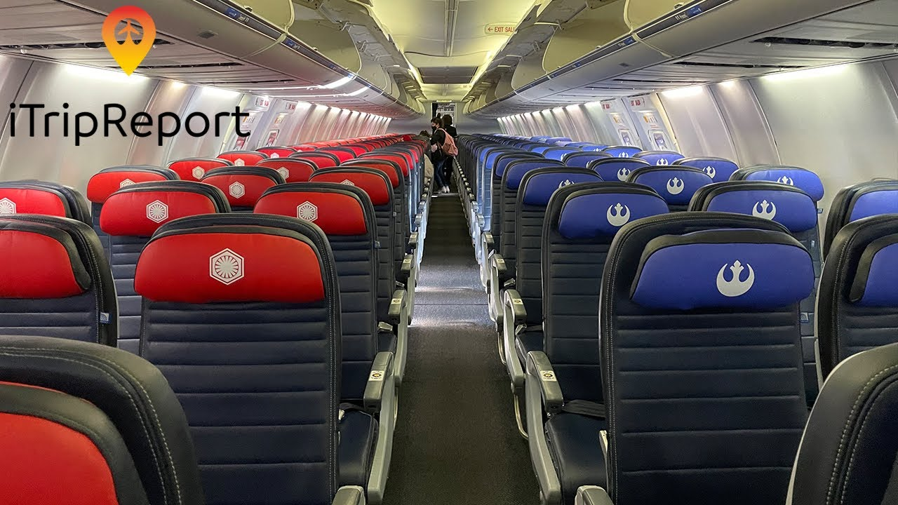 STAR WARS United 737-800 First Class Trip Report