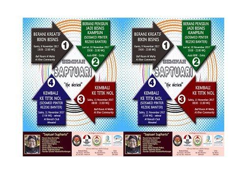 Saptuari - Berani Kreatif Bikin Bisnis - Al Khor Qatar - Bag-3