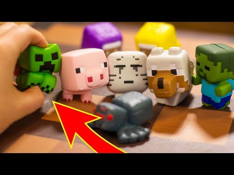 Unboxing Minecraft Squishme Stress Toys!