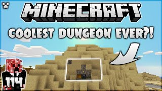 The Coolest Dungeon Ever?! | Minecraft Survival Let's Play