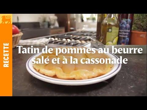 Tatin de pommes au beurre salé et à la cassonade