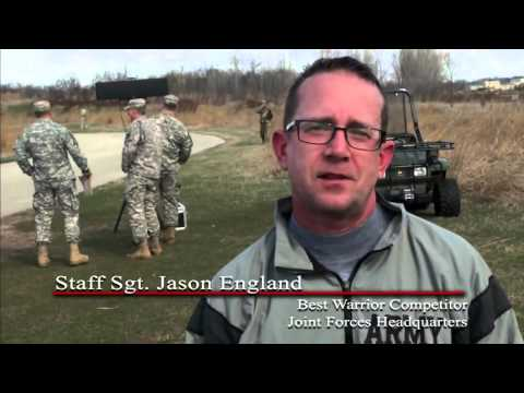 Iowa National Guard's Best Warrior Competition 2016