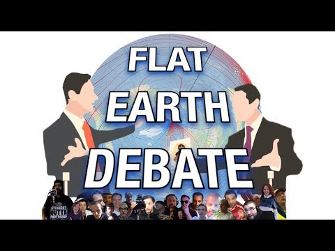 Flat Earth Debate 192 LIVE Football Fields Are Globes