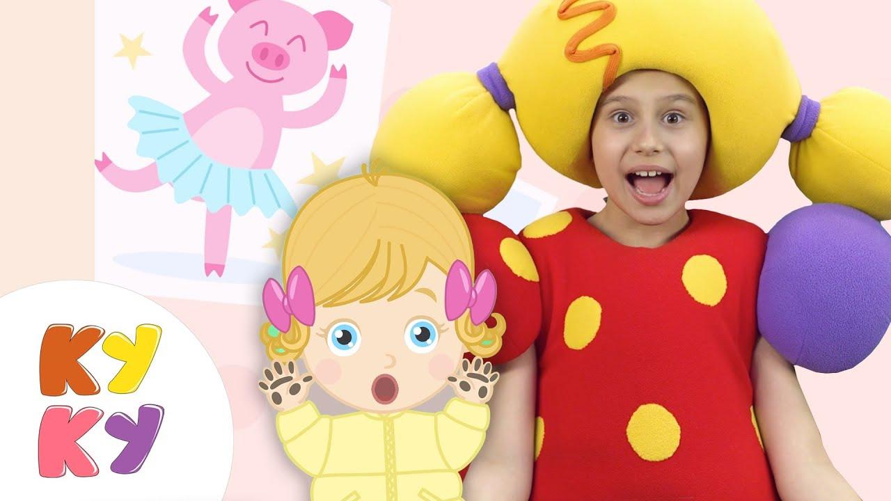 Кукутики как мама - Кукла Маша - Мультик песенка для детей малышей