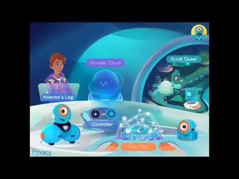 Dash Robot And Wonder App Tutorial