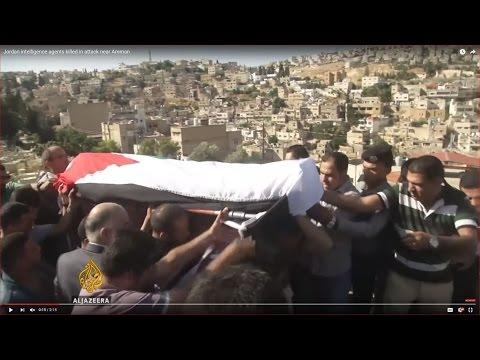 Jordan intelligence agents killed in attack near Amman