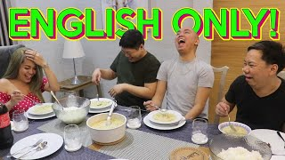 ENGLISH ONLY CHALLENGE WITH ETHEL BOOBA (NOSEBLEED SA LAPTRIP) | BEKS BATTALION
