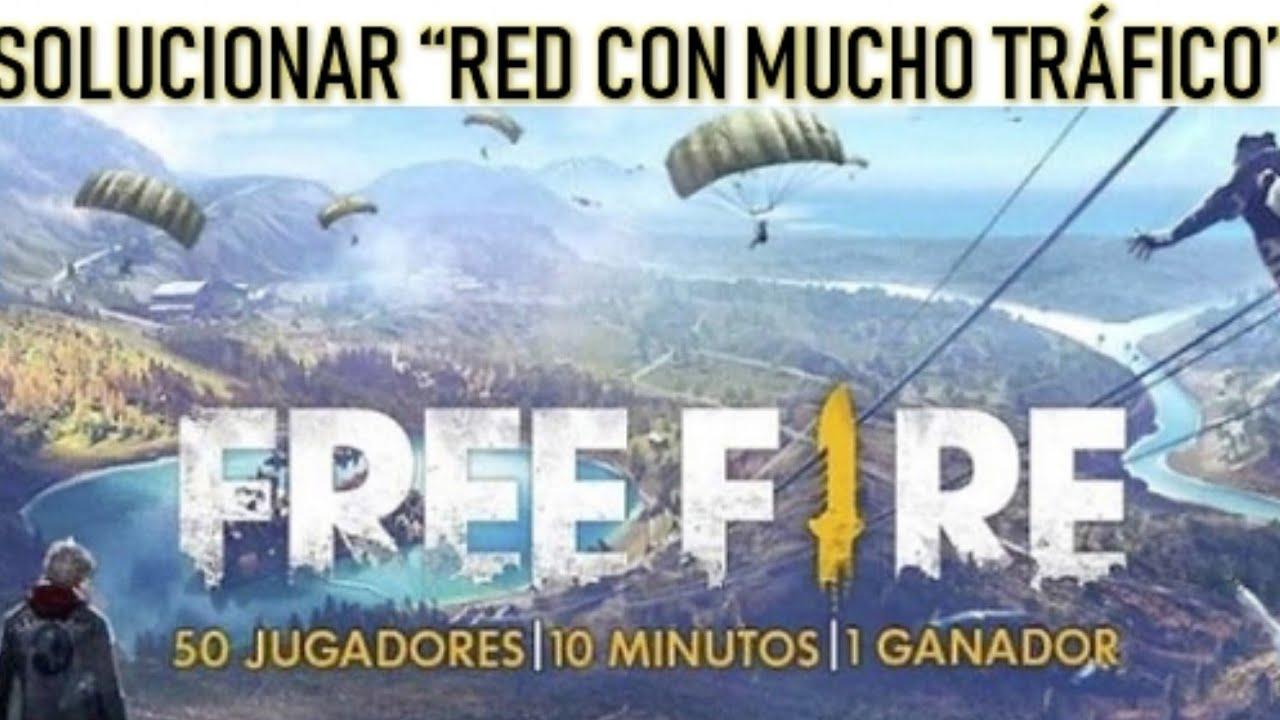 free fire red con mucho trafico