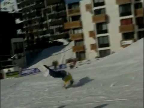 Zap de chutes sur la neige ! - Bêtisier sport