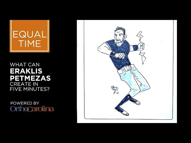 EQUAL TIME: Eraklis Petmezas' Superhuman Sketching Speed
