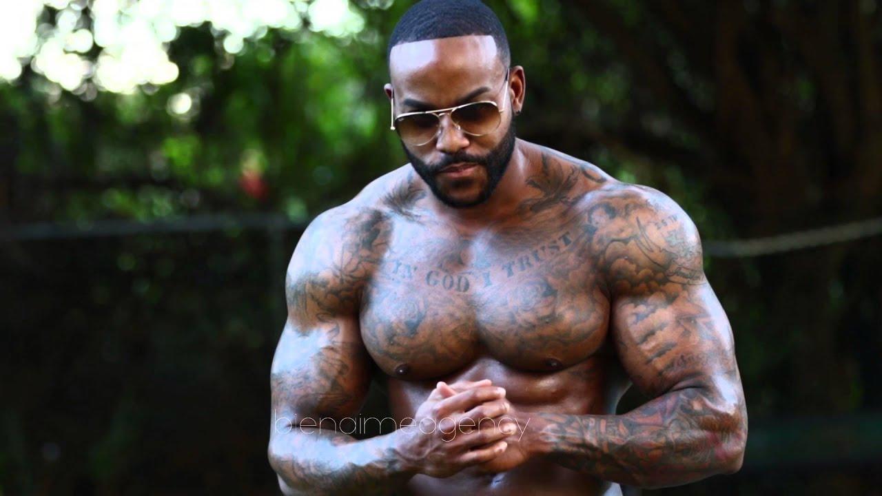 Haitian Fitness Model Joshua Benoit at Bienaime Agency ...