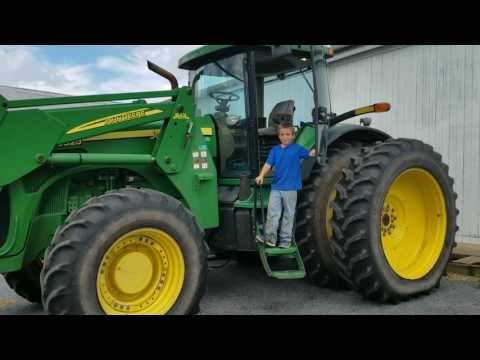 The farmer says go big or don't come pull me out at all!
