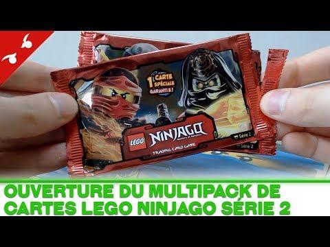 D couverte ouverture du multipack de cartes lego ninjago - Carte ninjago ...