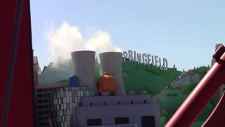 springfield nuclear power plant smokes universal studios hollywood