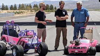 Barbie Cars on Jay Leno's Garage!