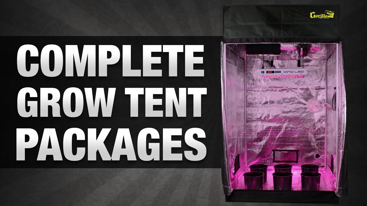 & Grow Tent Packages - Hydrobuilder.com - YouTube