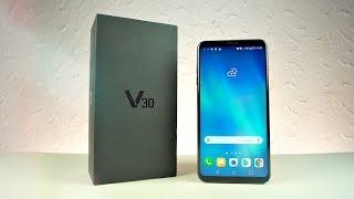 LG V30 (BLUE) - UNBOXING!!!