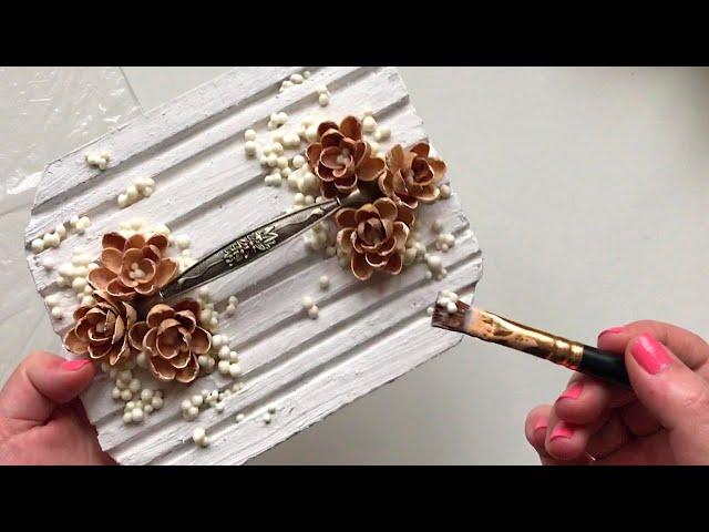 DIY Beautiful cardboard box   Handmade  decor   Сraft idea