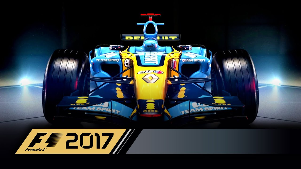 f1 2017 classic car reveal 2006 renault r26 uk youtube. Black Bedroom Furniture Sets. Home Design Ideas