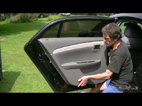 Rear Interior Panel Remove and Re-Install 2008 - 2012 Malibu