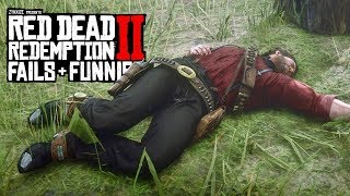 Red Dead Redemption 2 - Fails & Funnies #76