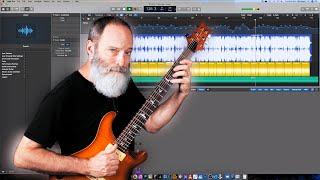 Ambient Guitar Recording Walkthrough (Logic Pro, Arturia Analog Lab)