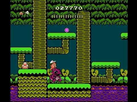 Adventure Island II (NES) Mundo 1
