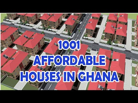 Affordable Housing Project in Ghana - proposed 1001 units Lakeside City Accra