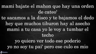Letra TUMBA LA CASA (Remix) -  Alexio La Bestia Ft. Daddy Yankee Nicky Jam Farruko Arcangel y Mas