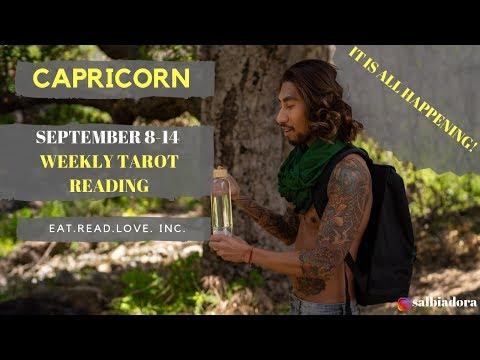 Capricorn Weekly Horoscope Tarot