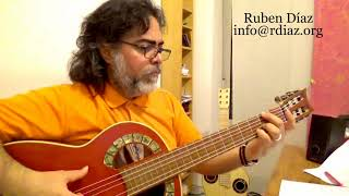 Recycling phrases (1)  Tangos Em / Learn Paco de Lucia´s style/ Ruben Diaz