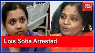 'Down With Fascist BJP Govt': Lois Sofia Arrested After Saying It To BJP Neta